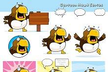 Cartoon Hawk Series