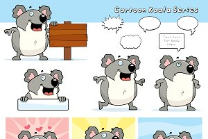 Cartoon Koala Series