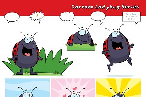 Cartoon Ladybug Series