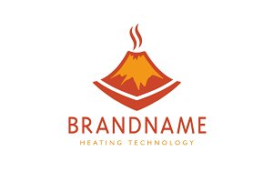 Smoldering Volcano Logo