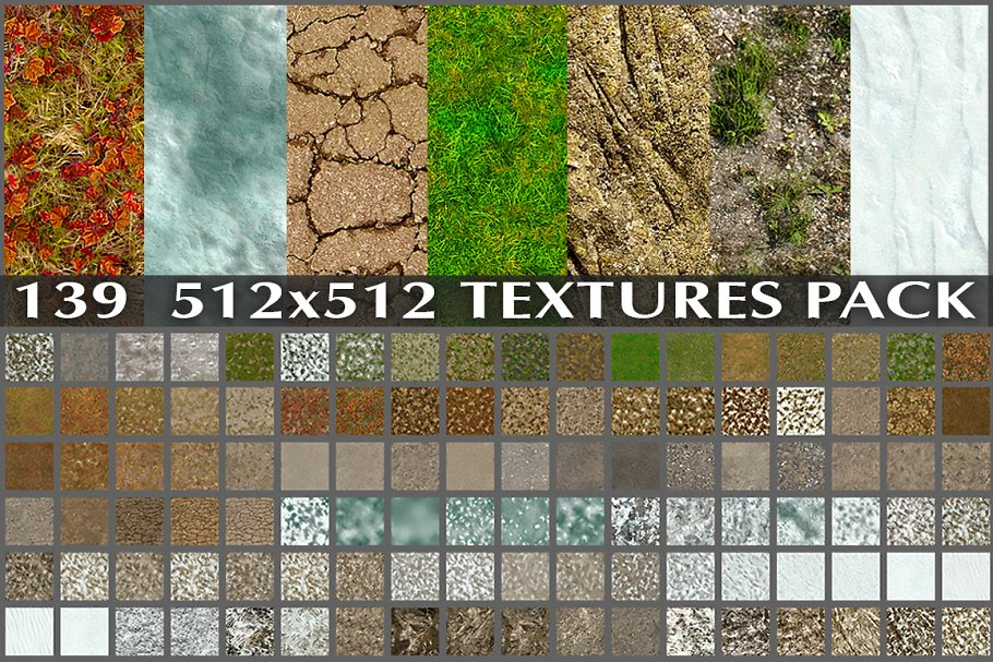 AUTUMN AND WINTER TEXTURE PACK