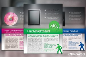 Product Presentation Flyer / Poster