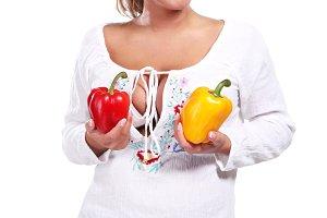 fresh paprika