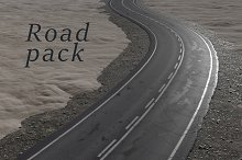 Road texture pack (PBR) by  in Road