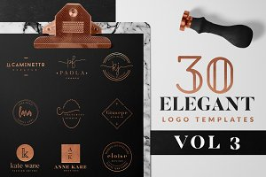 Elegant Logo Pack VOL 3