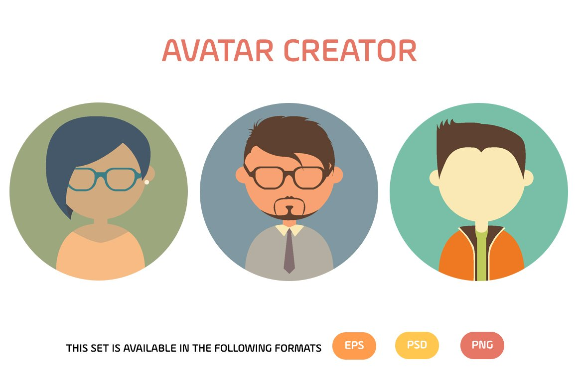 Avatar Creator ~ Illustrations ~ Creative Market