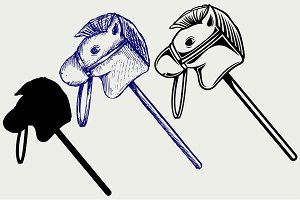 Toy horse SVG