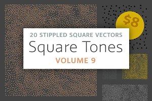 Square Tones Vol. 9 | Halftones