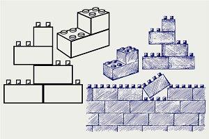 Plastic building SVG
