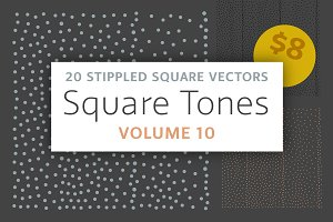 Square Tones Vol. 10 | Halftones