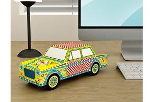 DIY Car Model - 3d papercraft