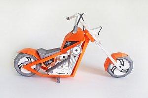 DIY American Chopper - 3d papercraft