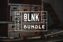 Big Blnk Bundle | 57 Fonts - 97% OFF