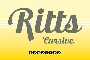 Ritts Cursive