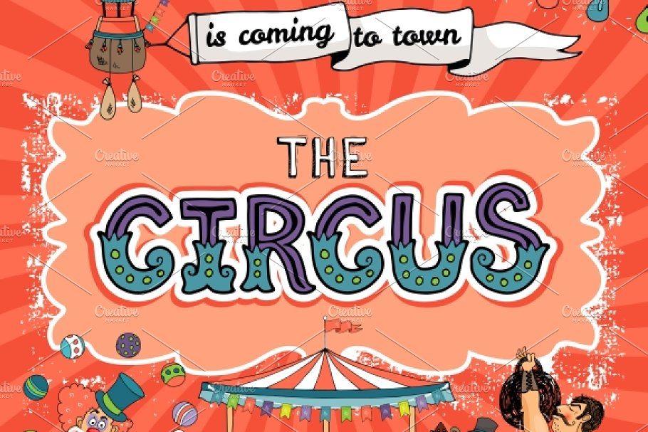 Image result for circus poster