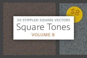 Square Tones Vol. 8 | Halftones