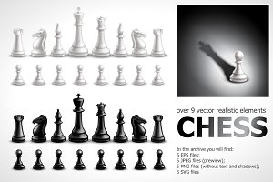 Chess Realistic Set