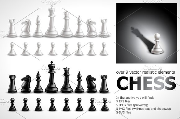 Chess Realistic Set