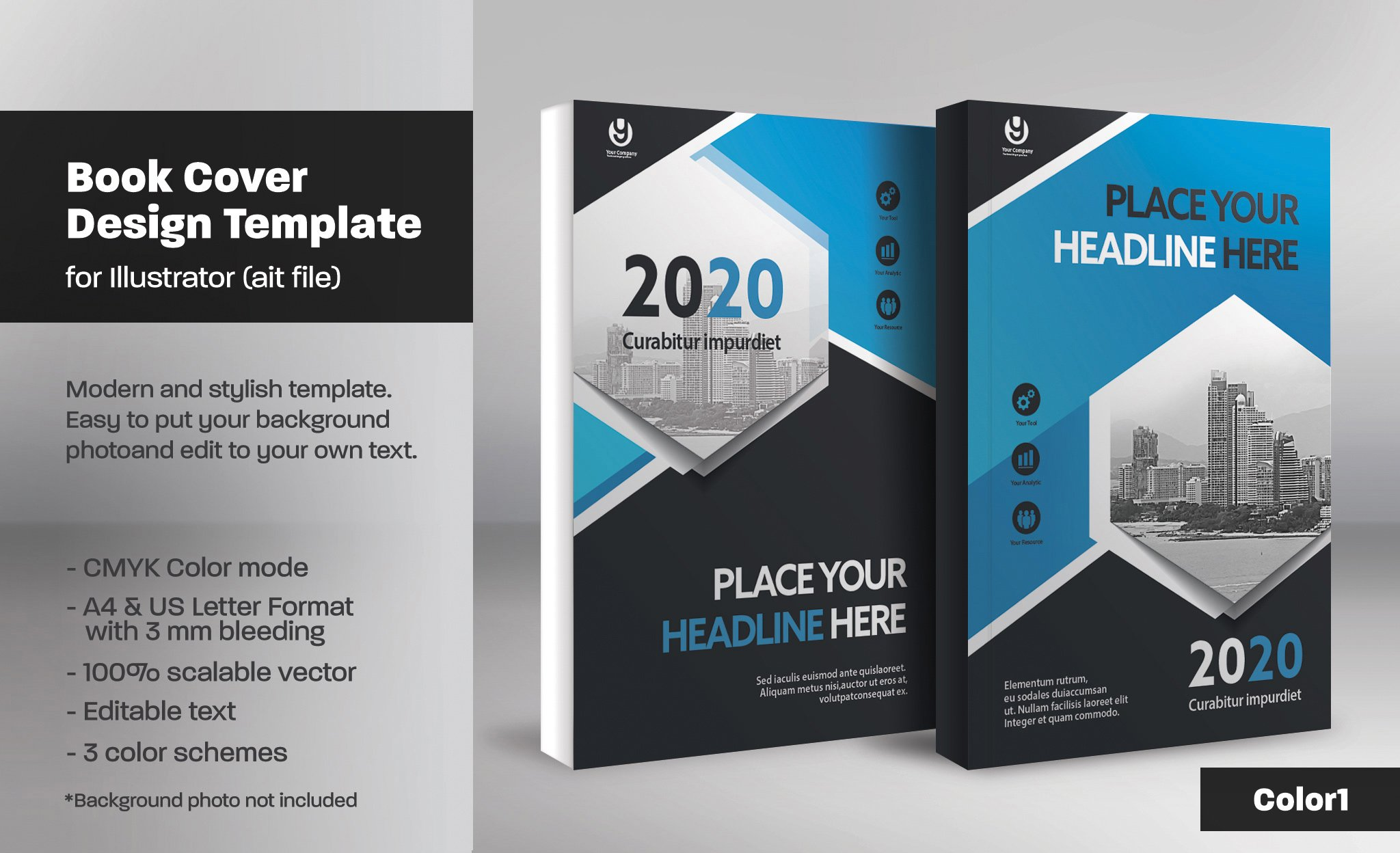 Book Cover Design Templates Free : Book cover template templates creative market