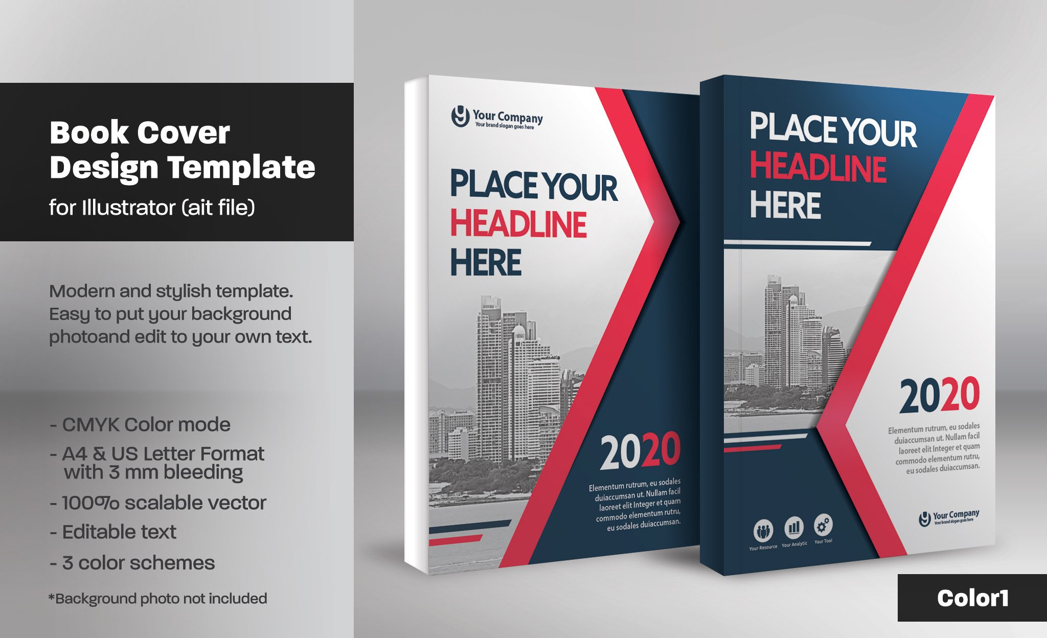 Book Cover Design Template Ks : Book cover template templates creative market