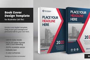 Book Cover Template 14