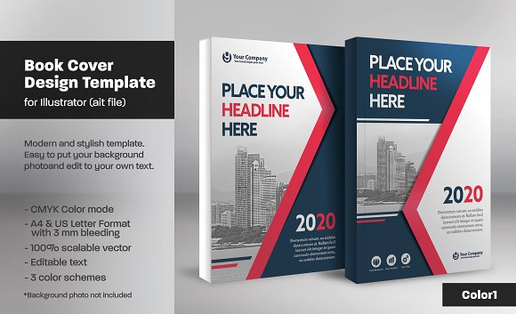 book cover template 14 templates creative market