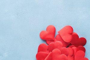Vertical Valentines day background