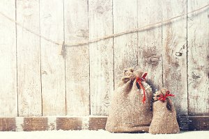Christmas home interior gift concept