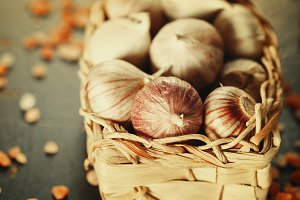 Garlic Close Up