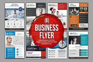 (8) Business Flyer Bundle