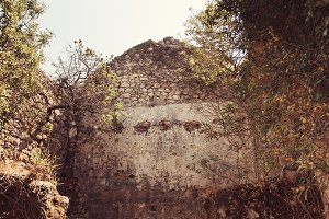 Old Ruin Obsolete Wall