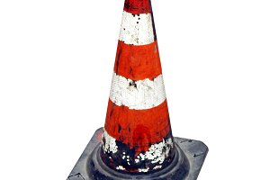 Traffic cone transparent PNG