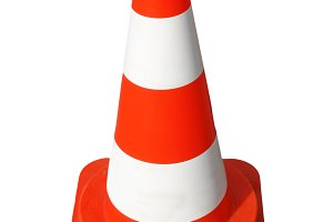 Traffic cone transparent PNG
