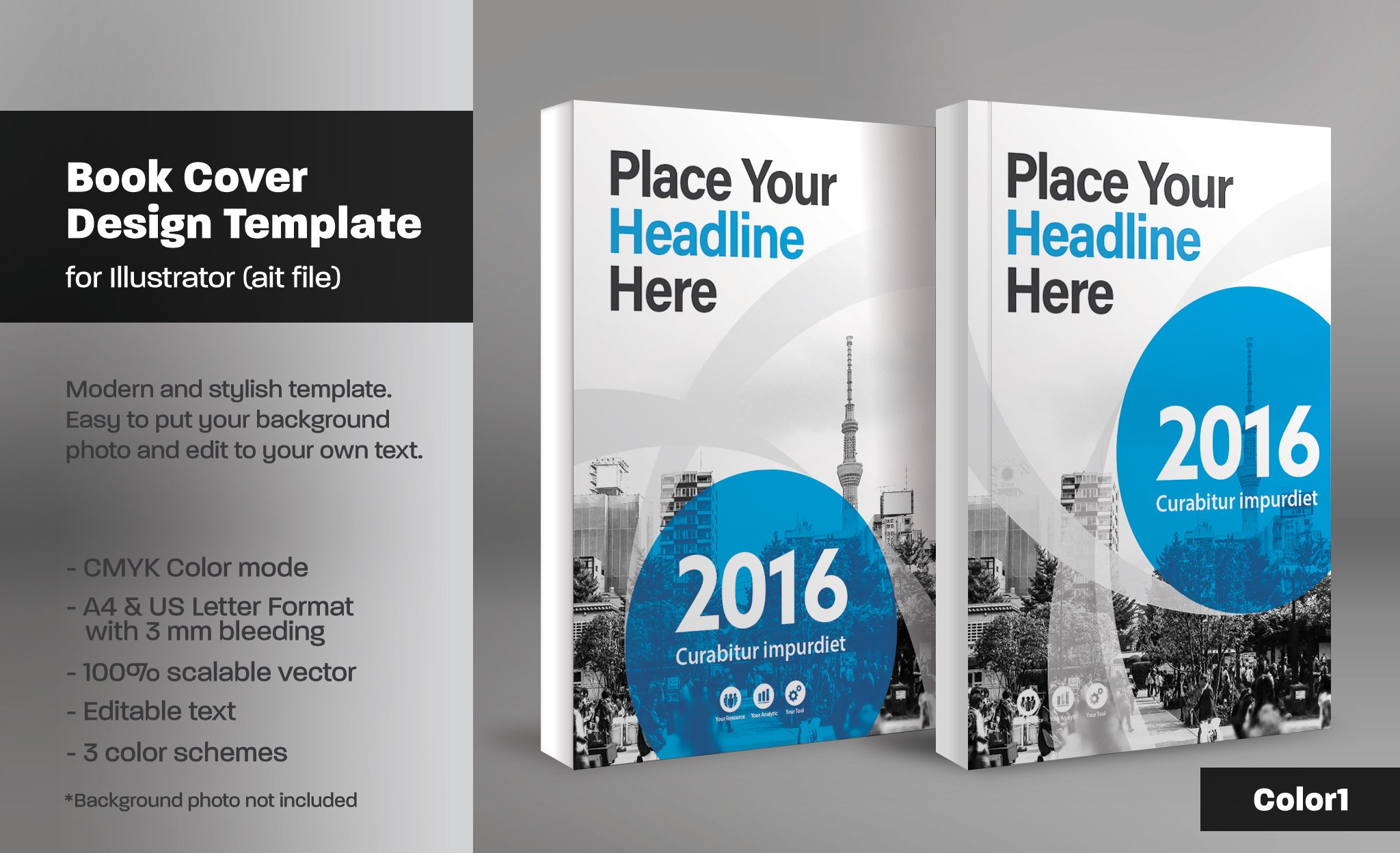 book cover template 19 templates creative market