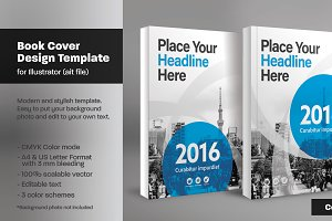 Book Cover Template 19
