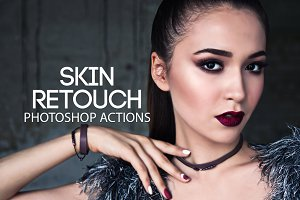 Skin Retouch Photoshop Actions Kit