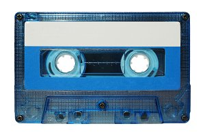 Tape cassette transparent PNG