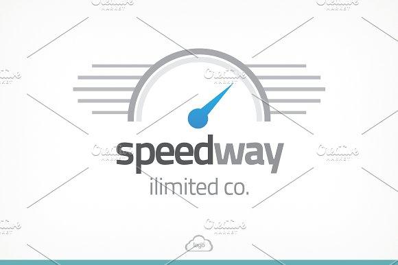 Speedway Logo Template