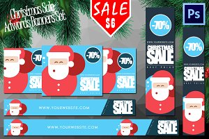 Christmas Offer Banners Set