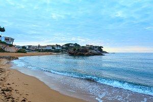 La Fosca beach, Palamos, Spain.