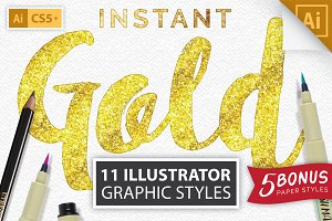 Instant Gold Foil Effect + More