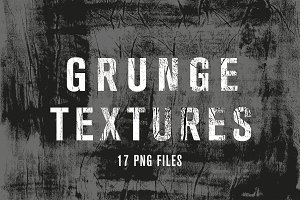 Unique hand painted GRUNGE textures