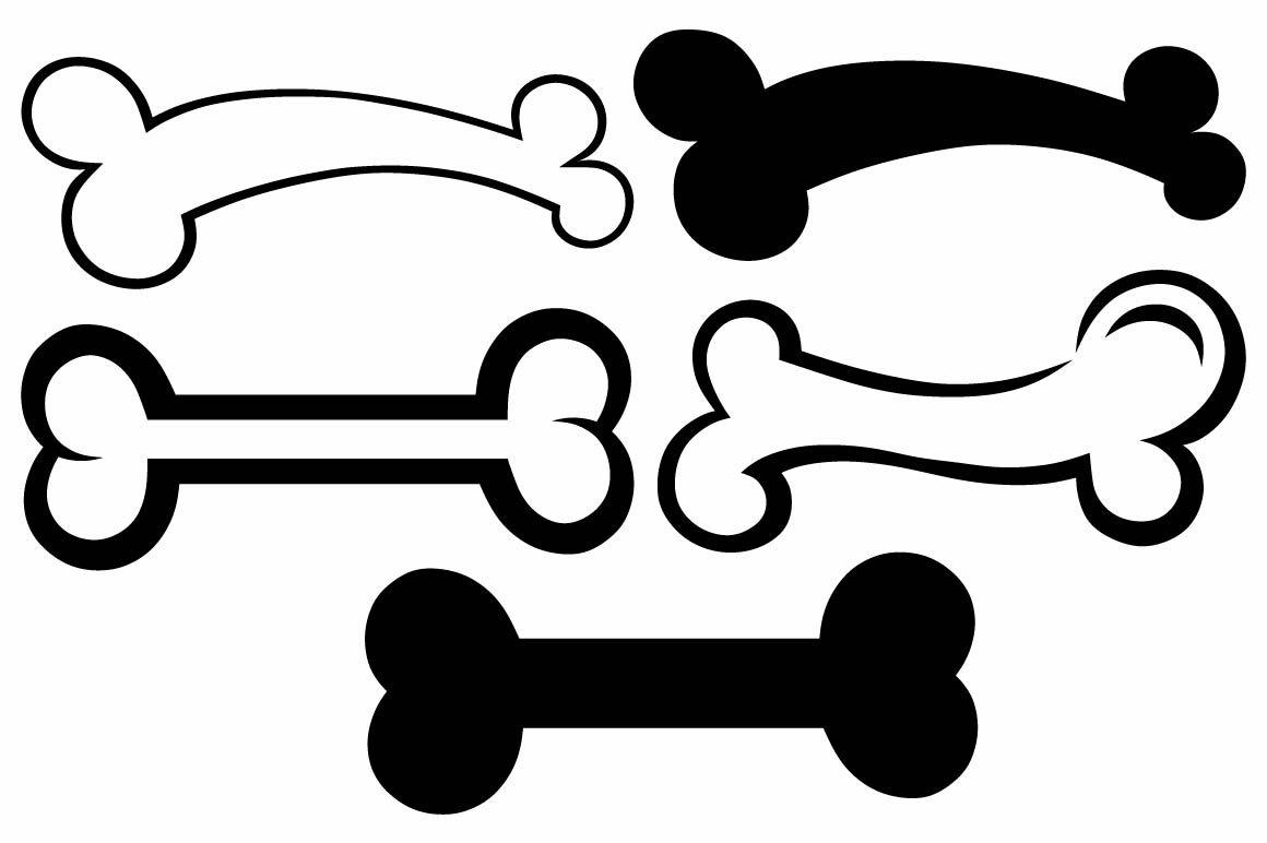 Dog bone SVG ~ Icons ~ Creative Market