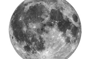 Full moon transparent PNG