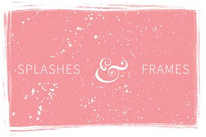 Splashes & Frames Textures