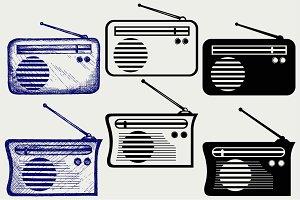 Radio receiver SVG