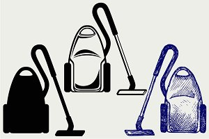 Vacuum cleaner SVG