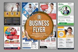 (8) Corporate Flyer Bundle
