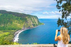 Amazing view in Hawaii, Usa