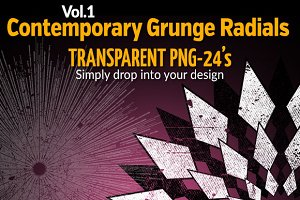 Contemporary Grunge Radials Vol.1